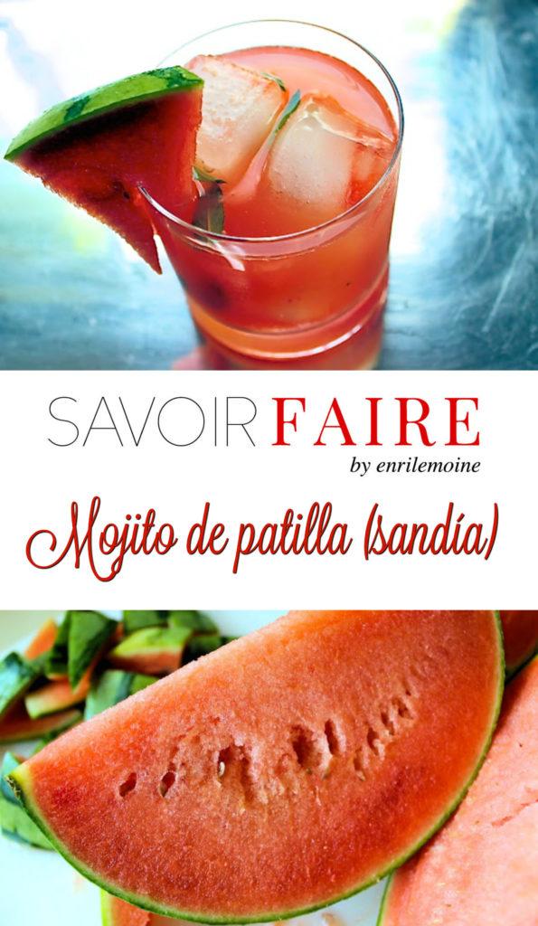 Mojito de patilla (sandía) - SAVOIR FAIRE by enrilemoine