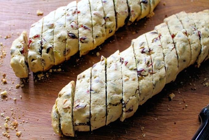 Biscotti de pistachos y arándanos secos - SAVOIR FAIRE by enrilemoine