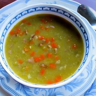 Split Green Pea Soup with Ham