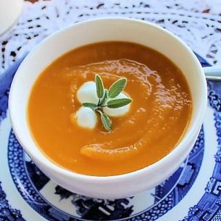 Sopa de calabaza y batata - SAVOIR FAIRE by enrilemoine