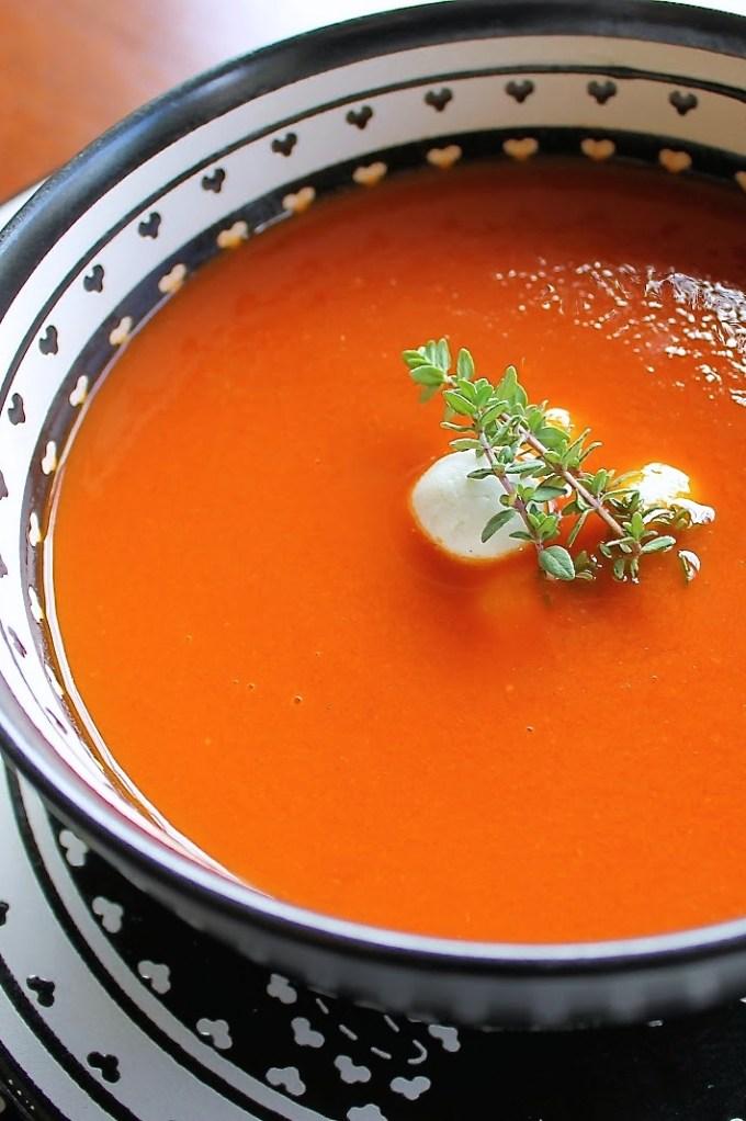 sopa de tomates asados - SAVOIR FAIRE by enrilemoine
