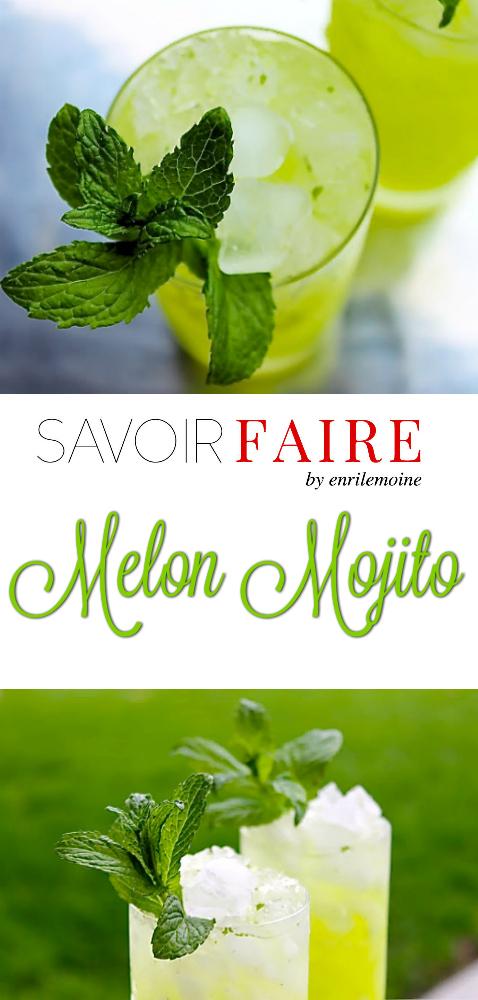 Melon Mojito - SAVOIR FAIRE by enrilemoine