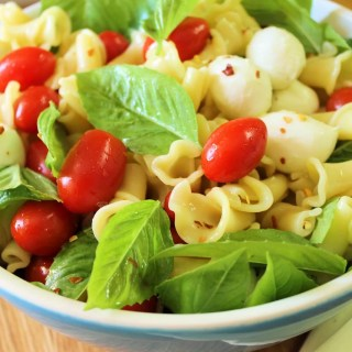 Summer is in the air: Pasta Caprese