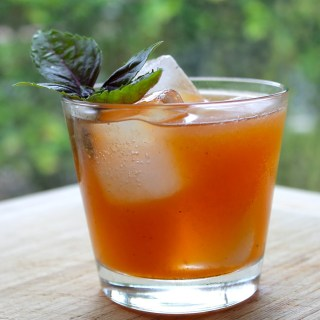 Georgia Summer {A Rum Cocktail}