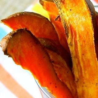 Cuñas de batata horneadas
