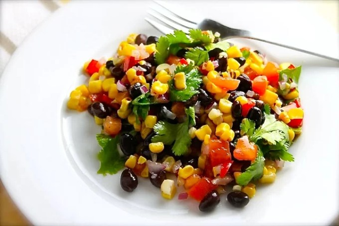 Black Bean and Grilled Corn Salad with Cilantro - SAVOIR FAIRE by enrilemoine