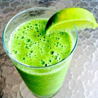 Batido verde {que te quiero verde}