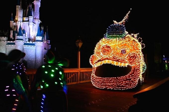 La magia del Disney Electrical Parade