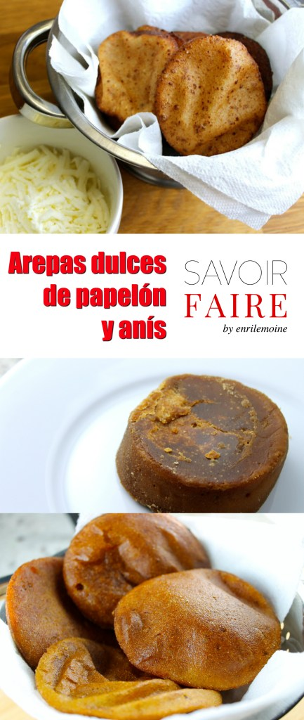 Arepas de papelón y anís - SAVOIR FAIRE by enrilemoine