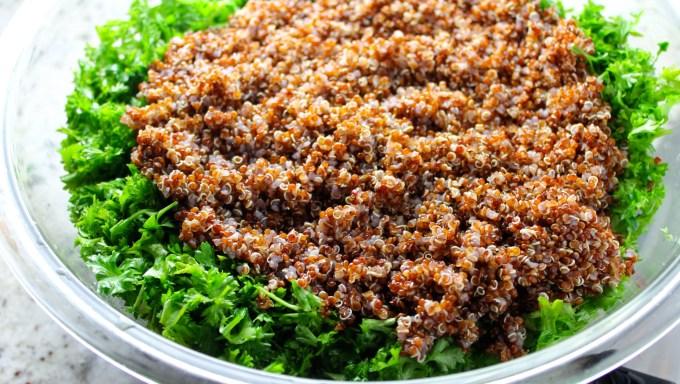 Red quinoa #byenrilemoine
