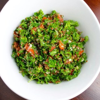Red Quinoa Tabbouleh or Tabouli