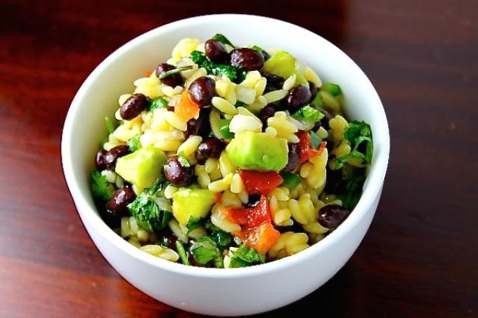 gluten free orzo salad