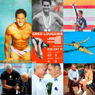 Greg Louganis: Beautiful on the surface and deep inside