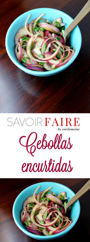 Cebollas encurtidas - SAVOIR FAIRE by enrilemoine