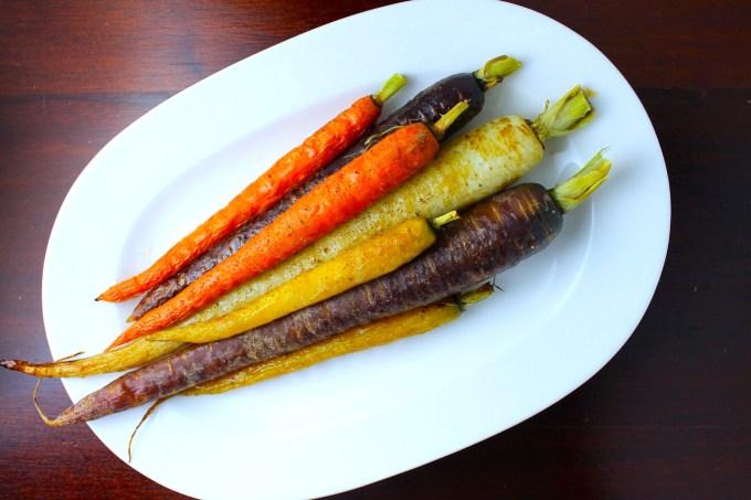 Zanahorias asadas con tomillo