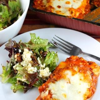 Comer balanceado y una receta de ensalada