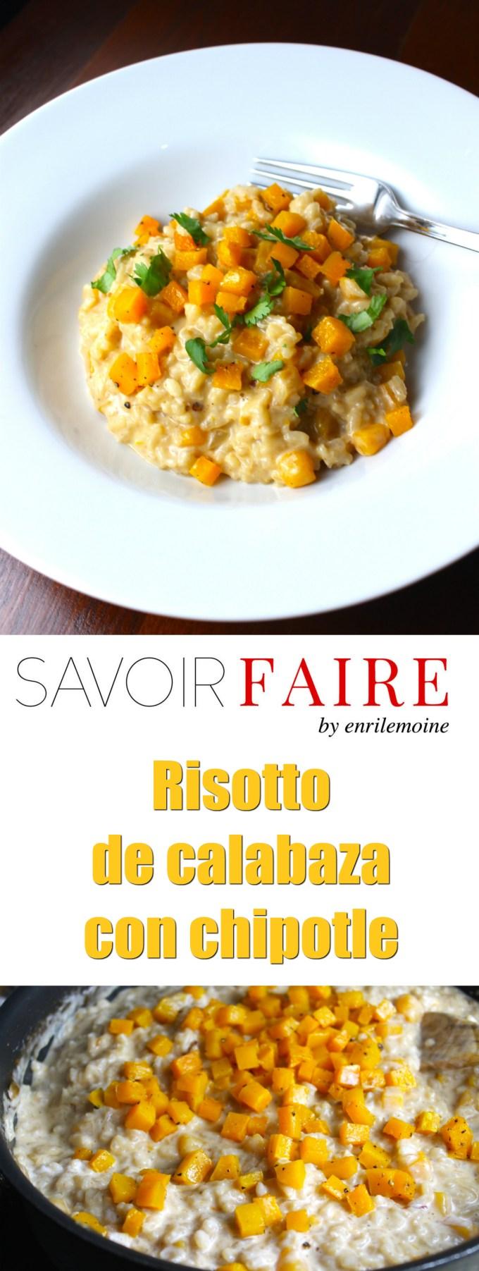 Risotto de calabaza y chipotle - SAVOIR FAIRE by enrilemoine