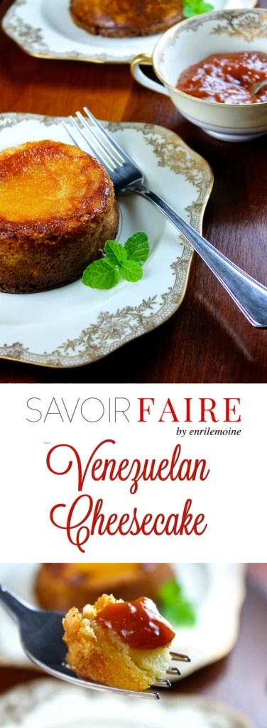 Venezuelan mini cheesecakes - SAVOIR FAIRE by enrilemoine