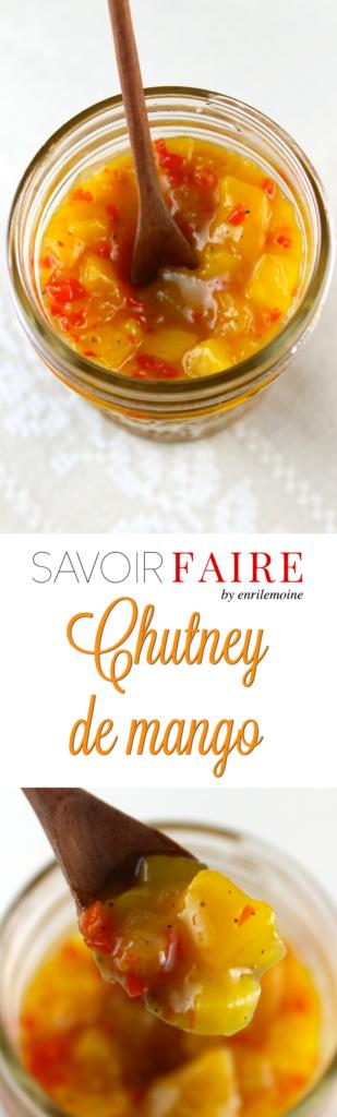 Chutney de mango - SAVOIR FAIRE by enrilemoine