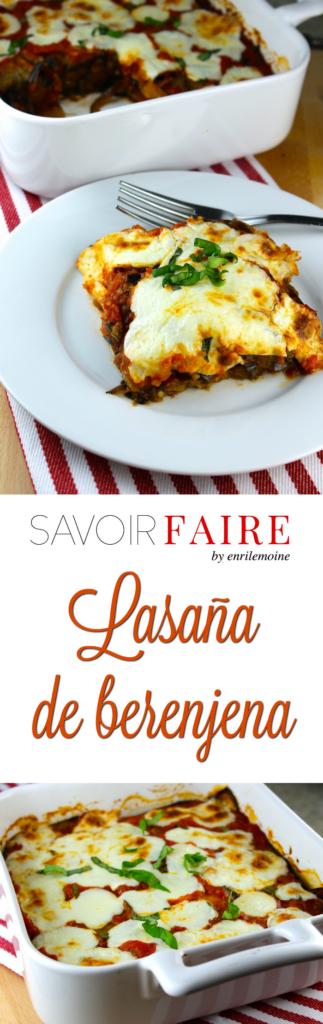 Lasaña de berenjena - SAVOIR FAIRE by enrilemoine