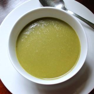 Crema de espinacas sin gluten
