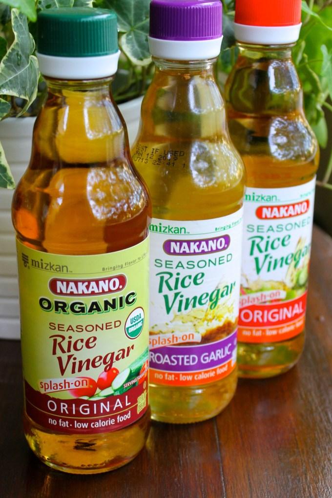 nakano rice vinegars to make Texas Caviar
