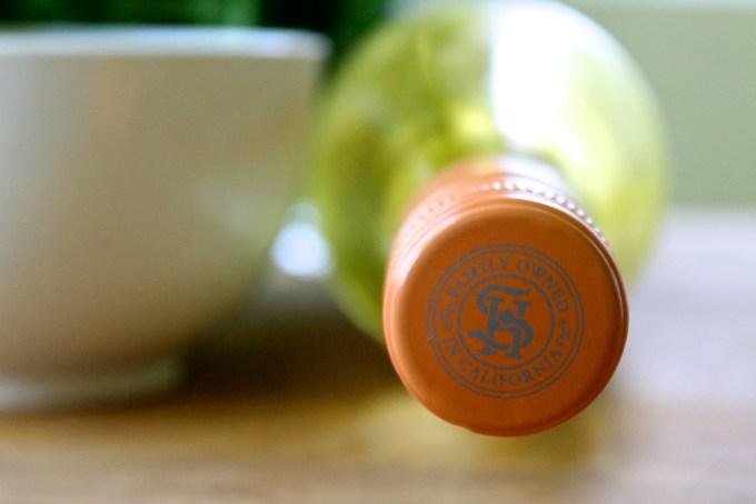tapa de vino moscato Sutter Home