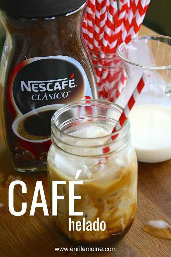 #AD Nada como un café helado, bien cremosito. Se prepara con sólo tres ingredientes incluyendo #NescaféLatino. Haz clic para que veas lo fácil que es hacer esta delicia, incluyendo una video-receta.