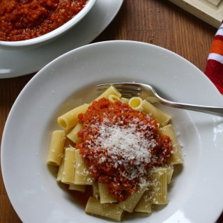 Fake Bolognese Sauce + VIDEO