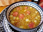 Lentil Soup with Spanish Chorizo - by enrilemoine