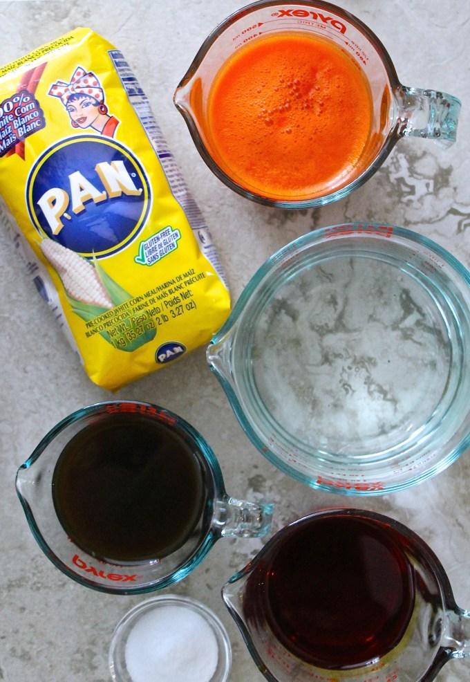 ingredientes para hacer masa de hallacas by enrilemoine