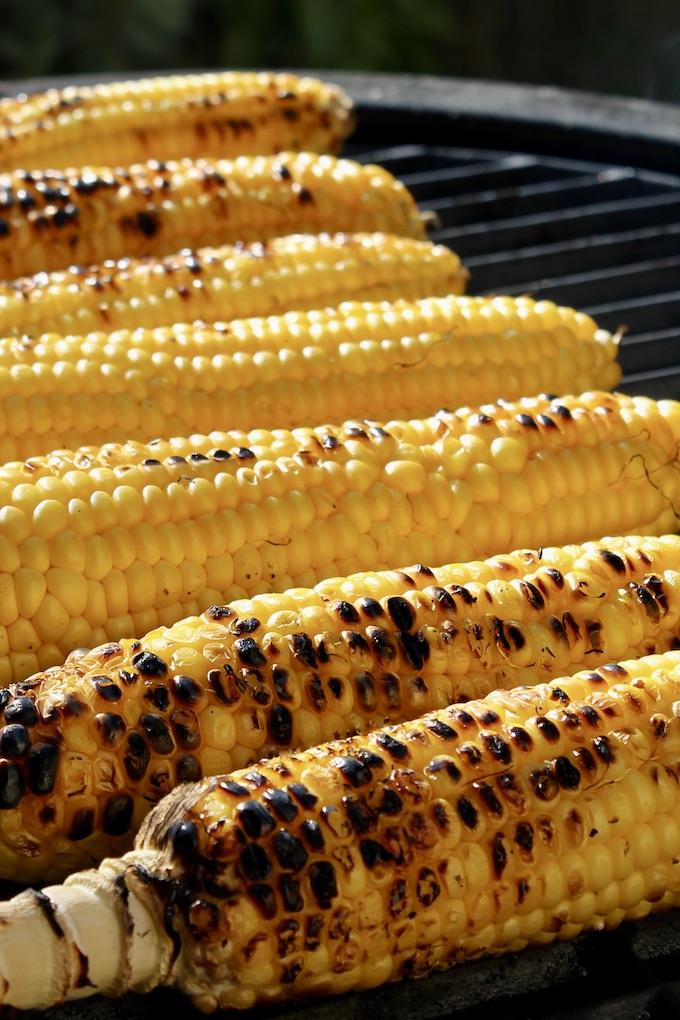 mazorca de maíz a la parrilla