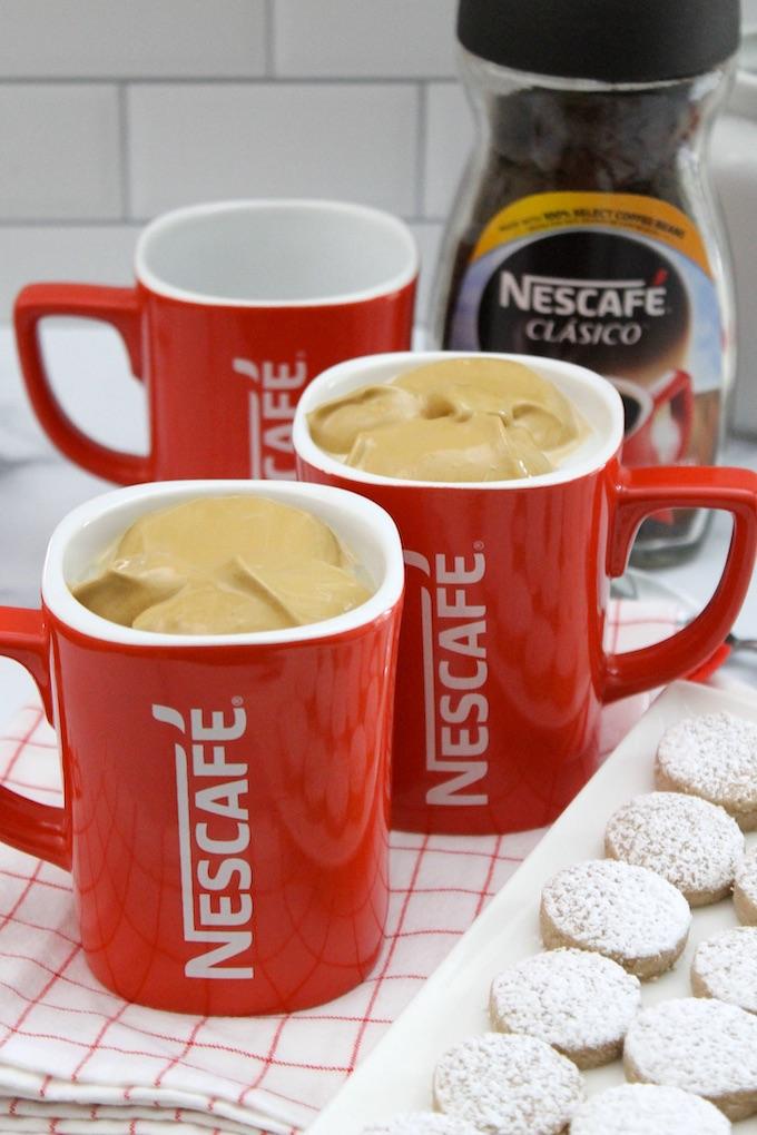 Tazas de café Dalgona