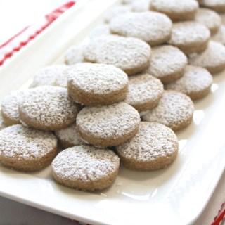 Polvorosas: Venezuelan Almond Cookies + VIDEO
