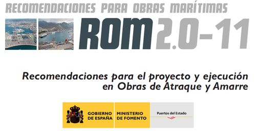 ROM_2.0-11_Recomendaciones_Proyecto_y_Ejecucion_Obras_de_Atraque_y_Amarre
