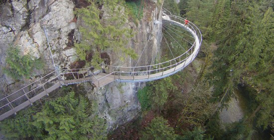 Cliffwalk Capilano Suspension Bridge Park