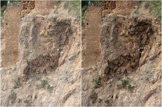 Geotecnia y Fotografía: Filtro anti redes de malla
