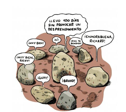 Terapia de piedras, por Joaquín Reyes
