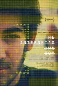 The internet's own boy. (Sundance festival poster)