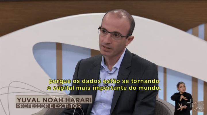 Yuval Noah Harari em Roda Viva (Tv Cultura)