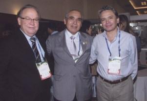 José Marcus Rotta, José Luciano Araujo, Enrique Osorio. Congreso de la ABNC. Natal - Brasil 2011.
