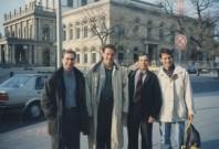 Rafael De La Riva, Peter Vorckapich, Enrique Osorio, German Arango--Hannover, Germany 1997