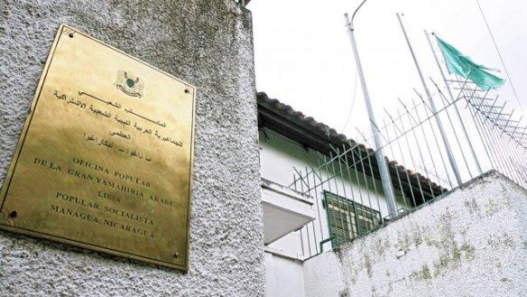 embajada de libia en nicaragua