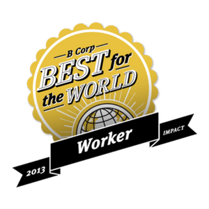 Enrollment Resources received the 2013 B Corp Best For The World Award: Best For Workers