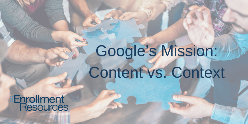 Content vs. User Context - The Main Takeaways Of Google Marketing Live, 2019