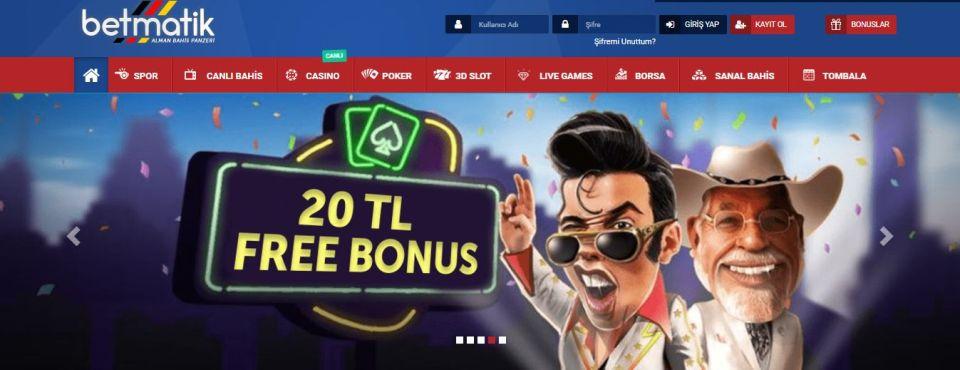 Betmatik Free Bonus