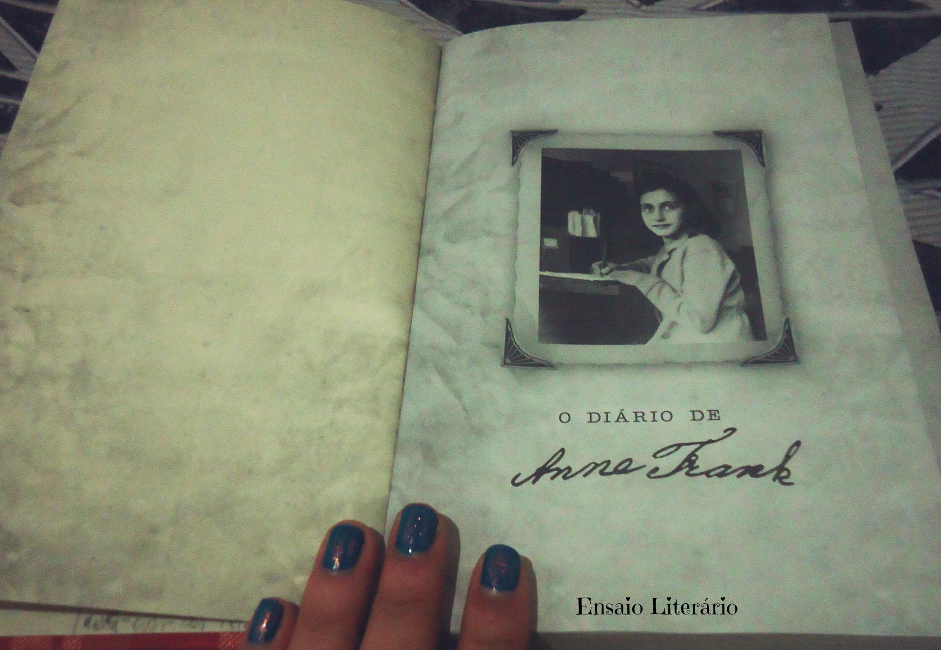 O Diario De Anne Frank Organizado Por Otto Frank