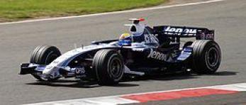 La escudería Williams con los motores Toyota en 2007