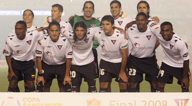 Finales Copa Libertadores Final 2008 - Campeón: Liga de Quito (Ecuador)