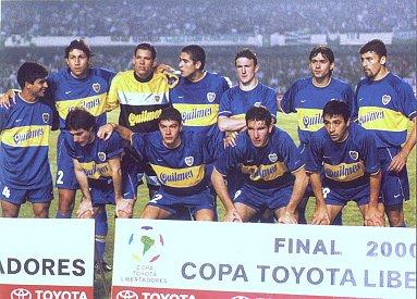 Finales Copa Libertadores Final 2000 - Campeón: Boca Juniors (Argentina)